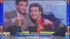 Ezio Greggio racconta Enzo Iachetti