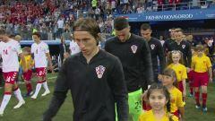 Mondiali, Croazia-Danimarca: partita intera
