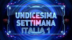 Undicesima settimana, Italia 1