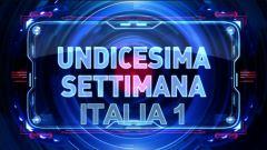 Undicesima settimana-seconda parte, Italia 1