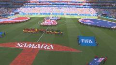 Mondiali, Danimarca-Australia: partita intera