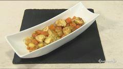 Spezzatino di pollo con zucca e patate