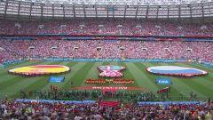 Mondiali, Spagna-Russia: partita intera