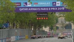 Formula E, gara - Parigi