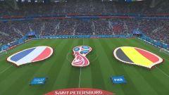Mondiali, Francia-Belgio: partita intera