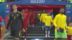 Mondiale, Brasile-Belgio: partita intera