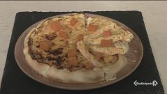 Torta salata con zucca e pancetta