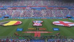Mondiali, Belgio-Inghilterra: partita intera