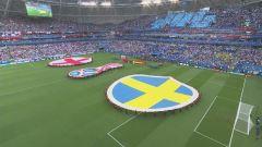 Mondiali, Svezia-Inghilterra: partita intera