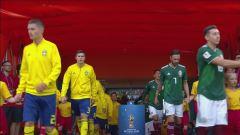 Mondiali, Messico-Svezia: partita intera