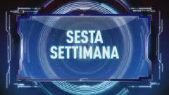 Sesta Settimana, Italia 1 - Prima parte
