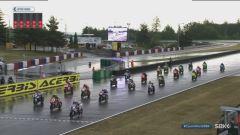 Superstock 1000 gara, circuito di Brno