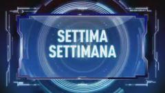 Settima Settimana, Italia 1 - Terza parte