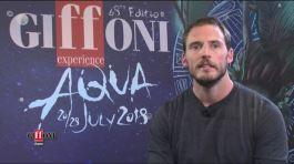 Sam Clafin ospite di Giffoni