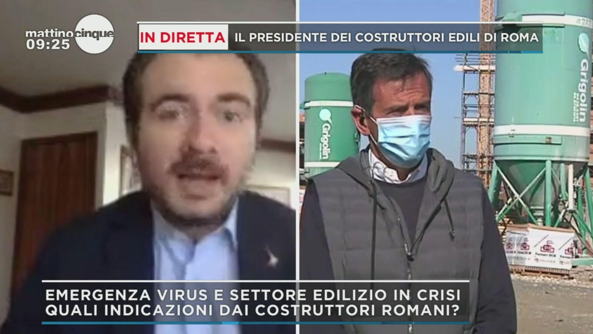 Imprese Di Costruzioni Roma mattino cinque: virus, la ripartenza delle imprese edili a roma video |  mediaset play