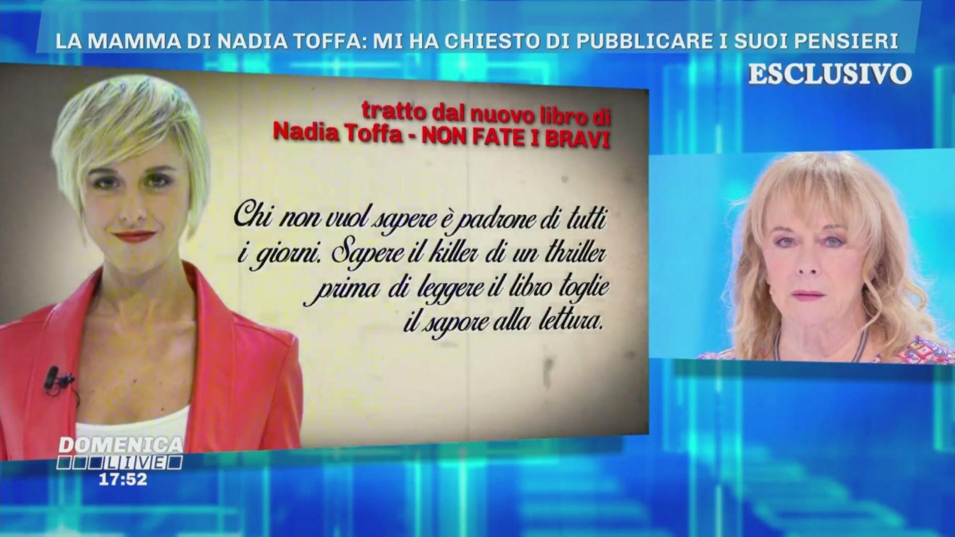 I pensieri di Nadia - Domenica Live Video | Mediaset Play