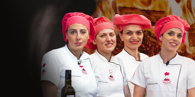 La 5 Pizza Girls