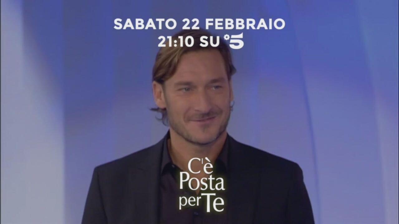 C'è posta per te 2020, Francesco Totti e Massimo Ranieri ospiti nella sesta puntata | video Witty tv