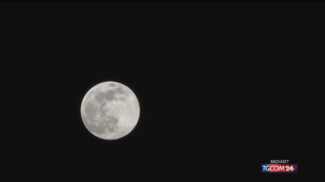 """Ecco la """"Luna dei fiori"""", la quarta e ultima superluna del 2020"""