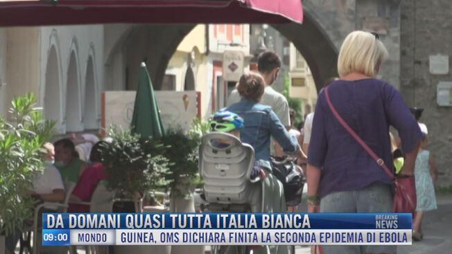 Breaking News delle 09.00 | Da domani quasi tutta Italia ...