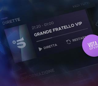 Scopri come votare su Mediaset Play