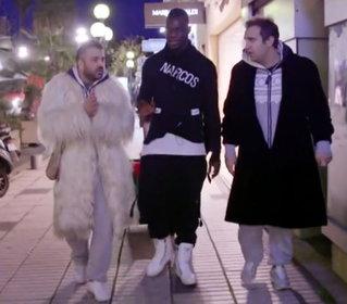 Pio e Amedeo e lo shopping con Balotelli